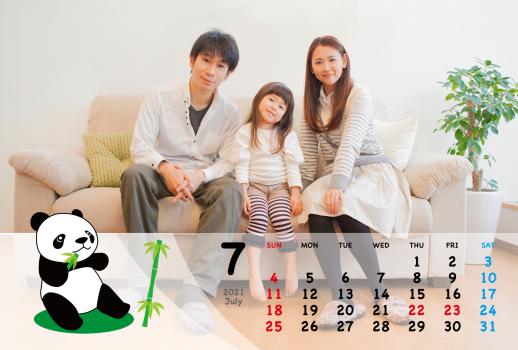 カレンダー③2021年7月