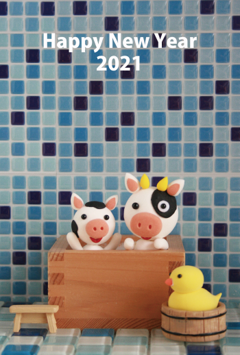 AF069_65_2 お風呂deお正月